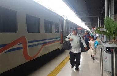 Lebaran H+1, Stasiun Pasar Senen Berangkatkan 26.839 Pemudik