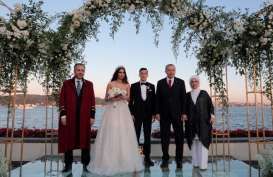 Mesut Ozil Menikah, Presiden Erdogan Jadi Pendamping Pengantin Pria