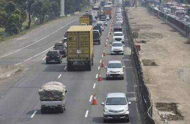 Contraflow Diberlakukan di Tol Jakarta–Cikampek KM 70 sampai KM 61