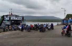 Arus Balik Lebaran 2019 : Pemudik Bersepeda Motor Ramai Lintasi Jalinsum wilayah Lampung
