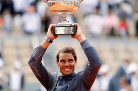 Rafael Nadal Juara Tenis Prancis Terbuka 12 Kali