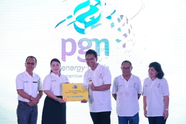 PT Perusahaan Gas Negara Tbk (PGN) menggelar BUMN Goes to Campus di universitas Katolik Santo Thomas Medan, Selasa (23/4/2019). - Istimewa