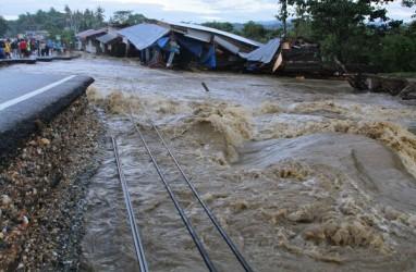 Bencana Alam Mengintai Sulteng Dampak Hujan Lebat