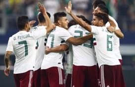 Hasil Uji Coba Copa America & Gold Cup, Meksiko Atasi Ekuador