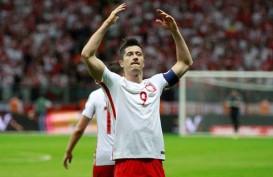 Hasil Kualifikasi Euro : Piatek & Lewandowski Bawa Polandia Tetap Pimpin Grup G