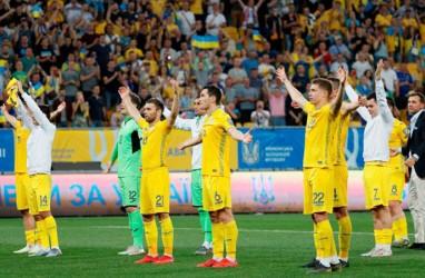 Hasil Kualifikasi Euro 2020, Ukraina Mantap Kuasai Grup B