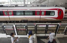 LRT Jakarta masih Tunggu Izin Operasional dari Dishub