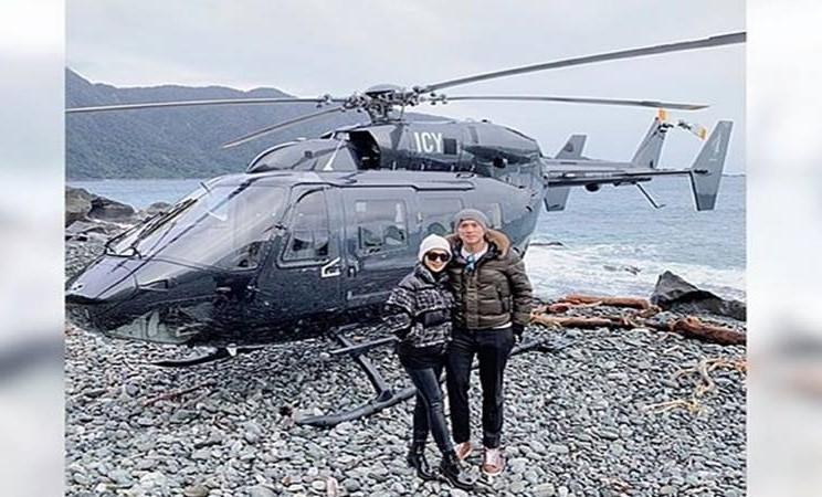 Reinobarack dan Syahrini - Instagram@princessyahrini