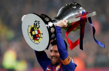 Messi Atlet dengan Bayaran Tertinggi, Lewati Ronaldo