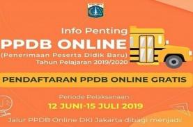 PPDB Online 2019: SD, SMP, SMA Jakarta Terima 5 Persen…