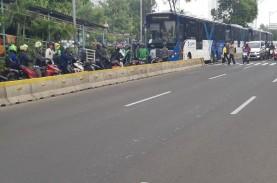 Sidang MK : Sejumlah Ruas Jalan Ditutup, Pemotor Serobot…