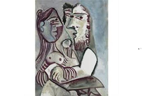 Lukisan Home et femme karya Pablo Picasso - artnet