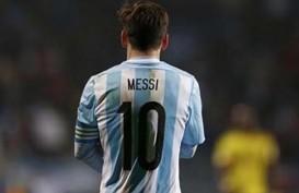 Argentina Dihajar Kolombia, Messi: Ini Terasa Pahit