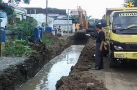 Pembangunan Drainase, Bangunan Tutup Saluran di Pantura…