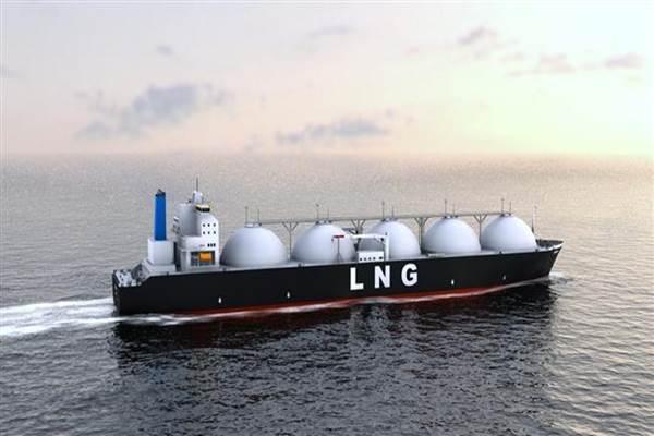 Ilustrasi kapal pengangkut Liquefied Natural Gas (LNG). - Istimewa