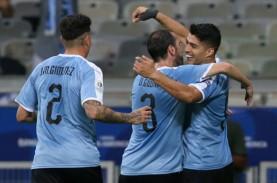 Hasil Copa America : Suarez & Cavani Ngamuk, Uruguay…