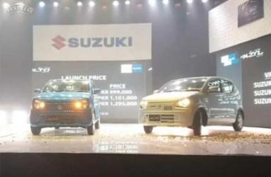 Suzuki Luncurkan Mobil Mini Baru Alto