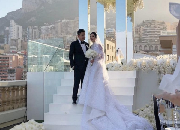 Pernikahan Keluarga Sampoerna di Monaco / Instagram