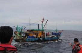 KKP Tangkap Kapal Ilegal Malaysia Tanpa Bendera di Malaka