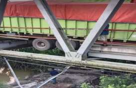 Jembatan Mesuji Ambrol, Jalur Lintas Tengah Sumatra Masih Normal