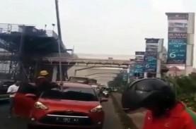 Viral Besi Timpa Mobil di Tol Cimanggis-Cibitung,…