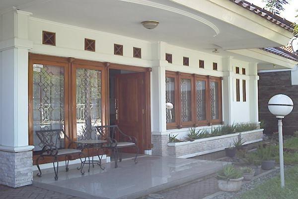 Teras rumah bergaya minimalis - Istimewa