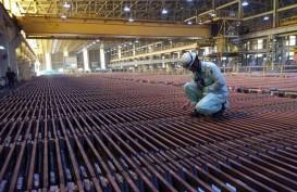 Produksi Katoda Tembaga Smelting Meningkat