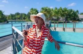 Berapa Uang Dihabiskan Syahrini-Reino Barack Berlibur ke Bora Bora?