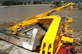 Kementerian PUPR Bangun Kembali Jembatan Kuning Palu