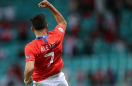 Alexis Sanchez Lebih Cinta Timnas Cile daripada Manchester United