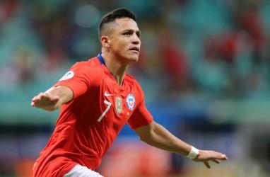 Alexis Sanchez Cedera Engkel, Diragukan Tampil Saat Cile vs Uruguay