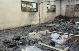 Sebelum Terbakar, Produksi Harian Pabrik Perakitan Korek Api 80.000 Unit