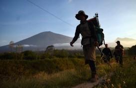 Api Bakar 141,6 Hektare Kawasan Hutan Gunung Rinjani