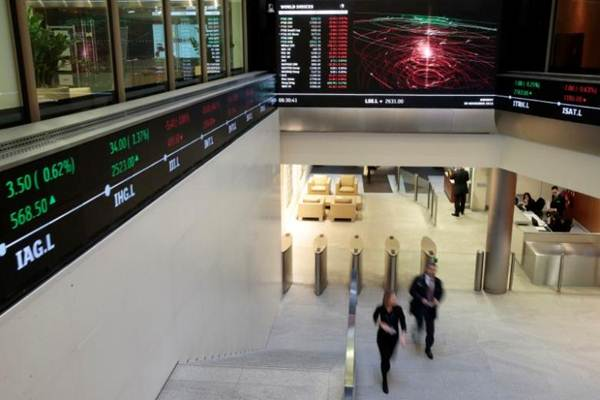 Indeks Stoxx 600 - Reuters