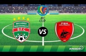 Semifinal AFC Cup: PSM Makassar Tekuk Becamex 2-1…