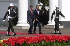 Bertemu Presiden Mauricio Macri, Presiden Jokowi Dorong…