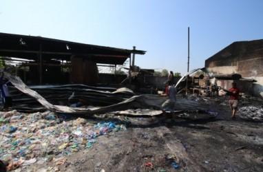 Pabrik Pengolah Limbah Plastik di Solo Terbakar Gara-Gara Mesin Meledak