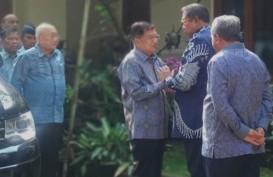 Sampaikan Dukacita, JK Sambangi Kediaman SBY