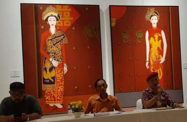 Pameran Tunggal Tjandra Kirana, Angkat Akulturasi Budaya Bali-China