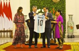 JOKOWI BERTEMU PRESIDEN ARGENTINA : Diplomasi 'Lionel Messi'