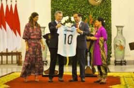 JOKOWI BERTEMU PRESIDEN ARGENTINA : Diplomasi 'Lionel…