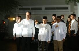 Jokowi dan Ma'ruf Amin Satu Mobil Menuju Halim Perdanakusuma