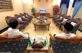 Jokowi-Ma'ruf Nobar Sidang Putusan MK di Halim Perdanakusuma