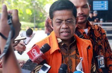 Ombudsman Protes Idrus Marham Keluar Tanpa Rompi Oranye & Menggunakan HP