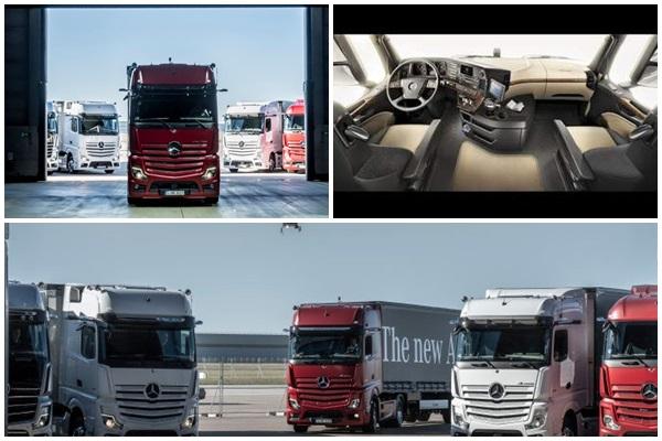 Daimler Trucks meluncurkan pembaruan besar-besaran ke model Mercedes-Benz Actros - Daimler / Martin Sihombing