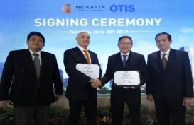 Otis Pasok Lift untuk Proyek Meikarta