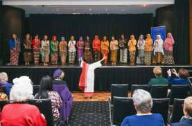Alunan Angklung Indonesia Hipnotis Canberra