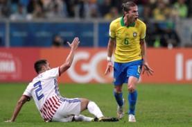 Hasil Copa America : Babak I Brasil vs Paraguay 0-0,…