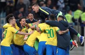 Hasil Copa America : Brasil Menang Adu Penalti, vs Argentina di Semifinal? (Video)