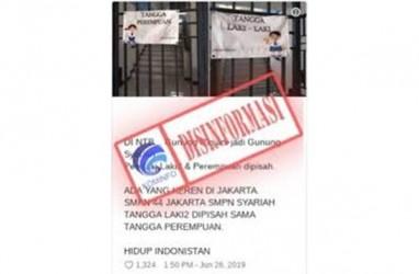Viral Pemisahan Tangga Siswa Putra dan Putri, Ini Penjelasan SMPN 44 Jakarta